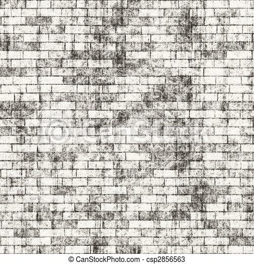 dessins de grungy mur brique a grungy brique mur texture cela csp2856563. Black Bedroom Furniture Sets. Home Design Ideas