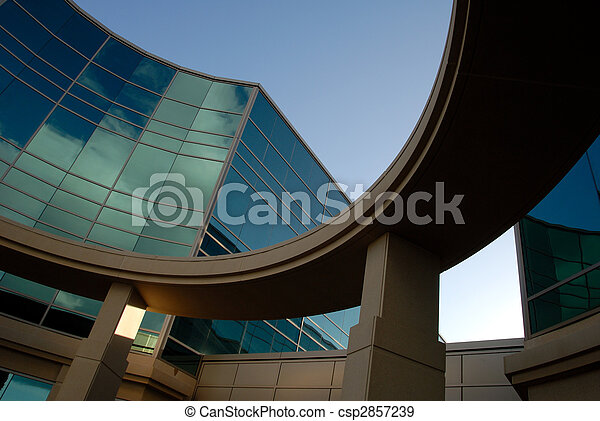 Office Building Exterior - csp2857239