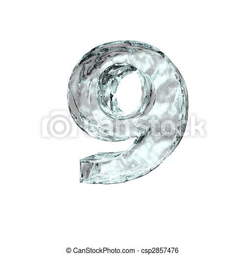 frozen number nine - csp2857476