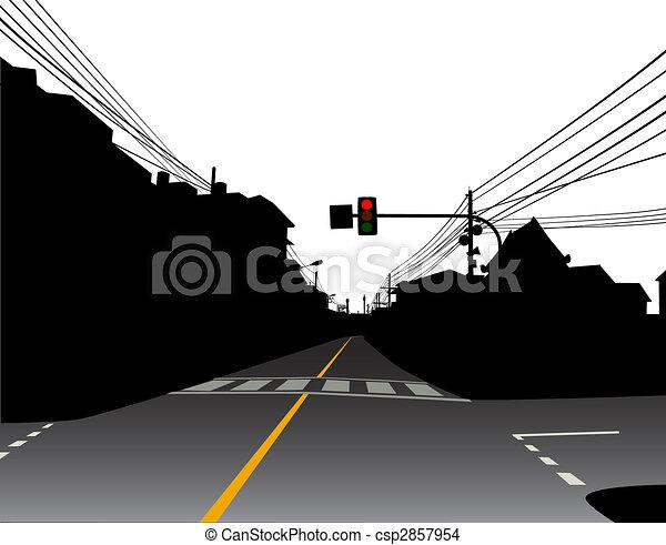 Street - csp2857954