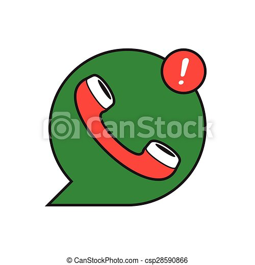 Clip Art Vector of classic wire phone handset - ?lassic wire phone ...