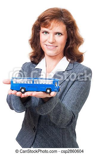 Happy journey on bus - csp2860604