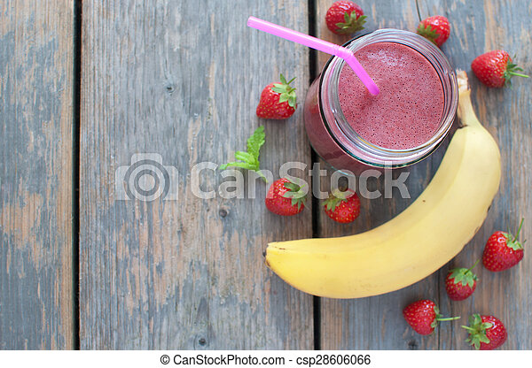 Berry smoothie - csp28606066