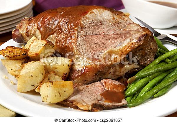 Lamb Roast - csp2861057