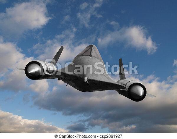 Cold War Spy Plane - csp2861927