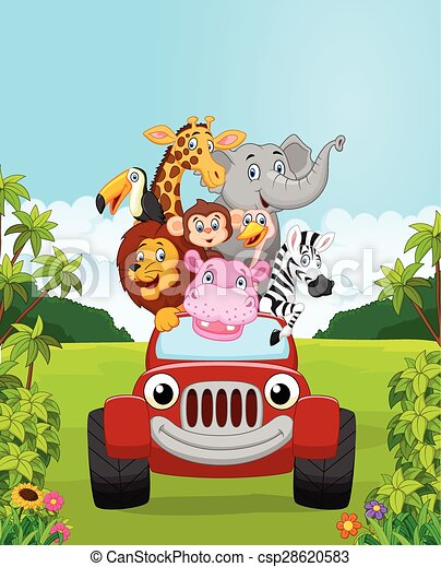 Vettore di animale vacanza collezione cartone animato - Animale cartone animato immagini gratis ...