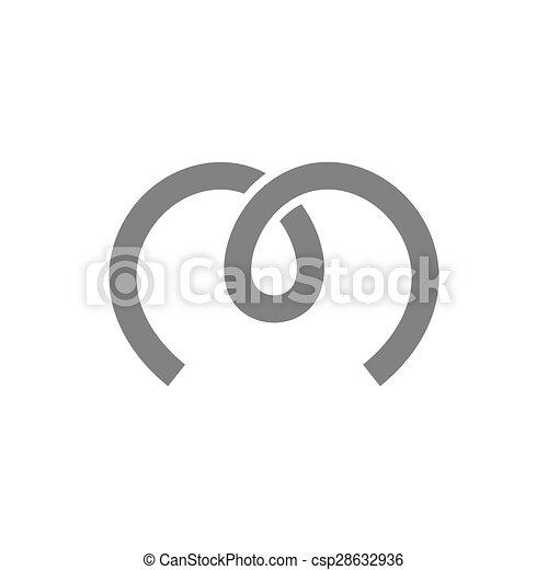 Letter M Logo Concept Icon. Vector - csp28632936