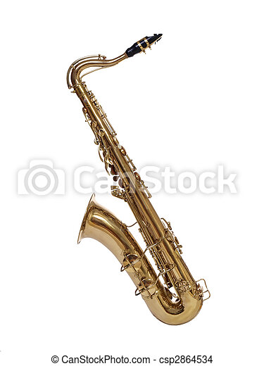 Saxophone from 1930\'s - csp2864534