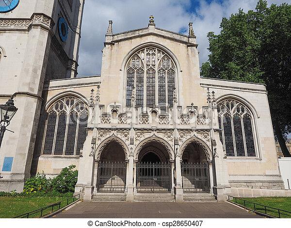 St Margaret Church in London - csp28650407