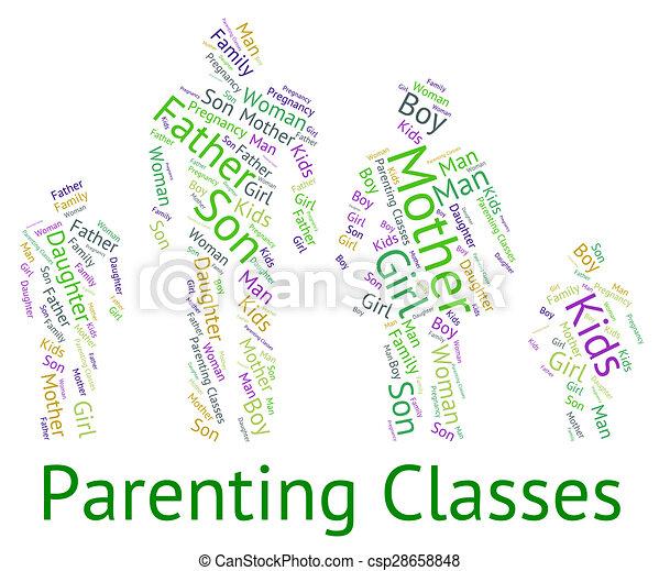 Parenting Class Clip Art