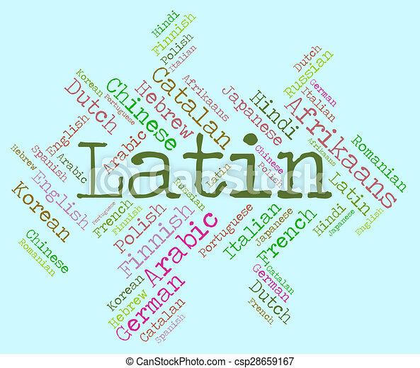 A Is language latin