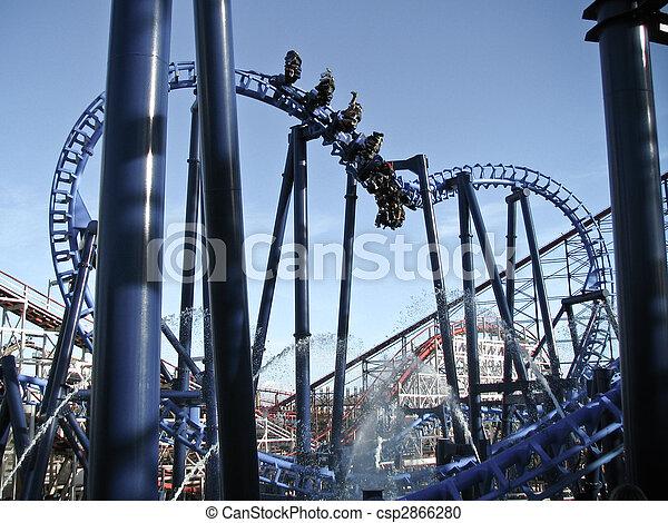 Roller coaster   - csp2866280