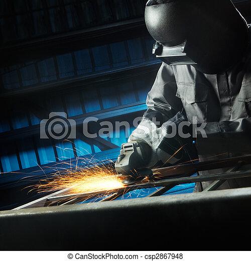 grinding after weld - csp2867948