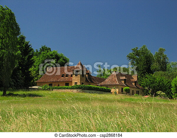 Farm, Manor - csp2868184