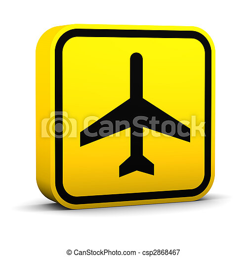 Air Transportation Sign - csp2868467