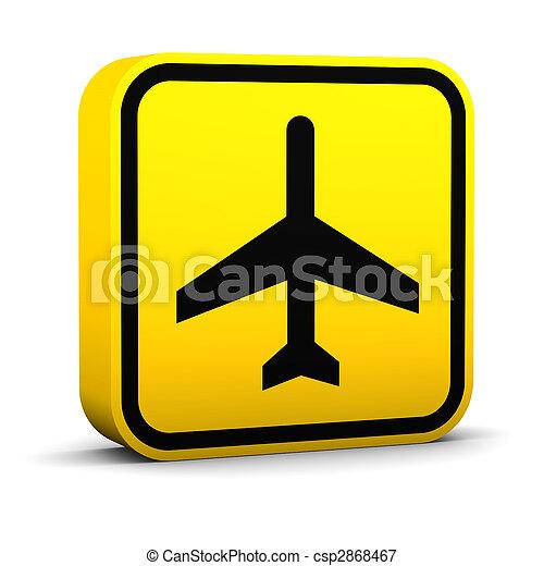 Air Transportation Sign - csp2868467