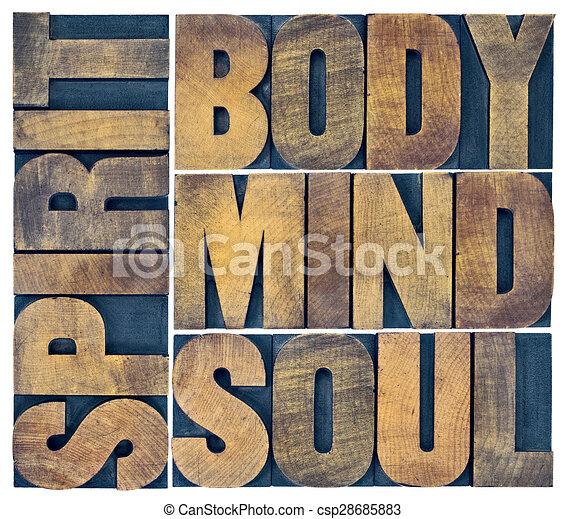 Body Spirit Body Mind Soul And Spirit in