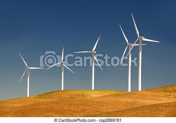 Power Generating Windmills - csp2869181
