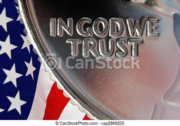 In God We Trust - csp2869203