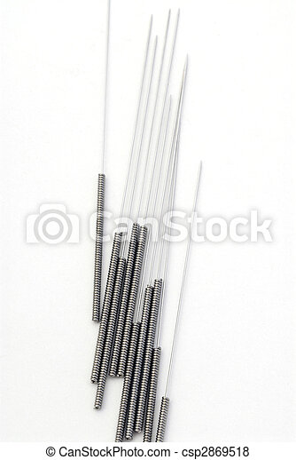 Acupuncture Needles - csp2869518