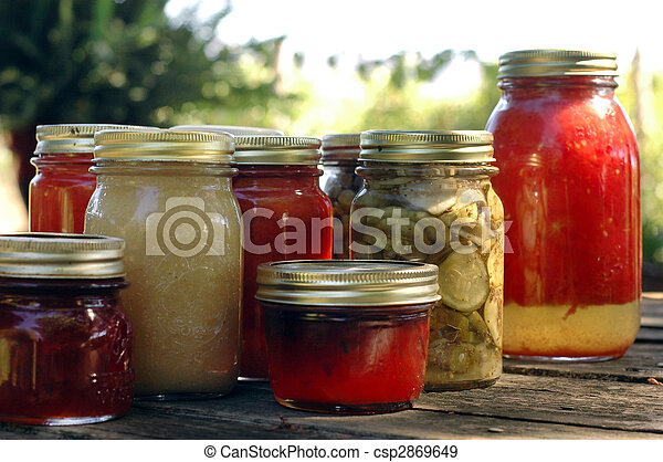 Homemade Preserves - csp2869649