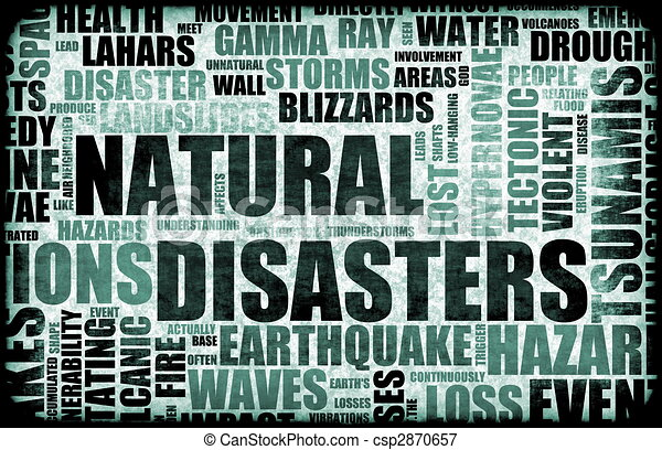 Natural Disasters - csp2870657