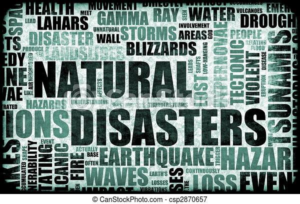 Natural Disasters - csp2870657