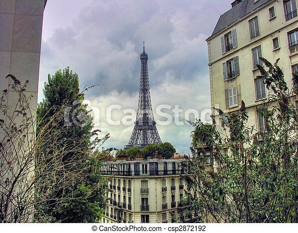Paris in October - csp2872192