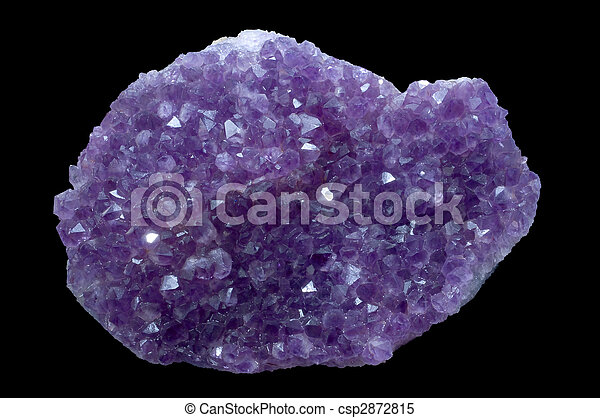 amethyst crystal stone - csp2872815