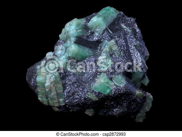 emerald stone - csp2872993
