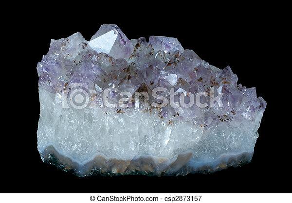 quartz with rutile inclusions - csp2873157