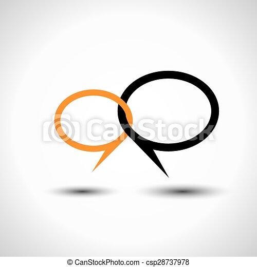 en línea charla pequeño