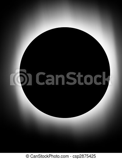Stock Illustrations of total solar eclipse csp2875425 - Search ...