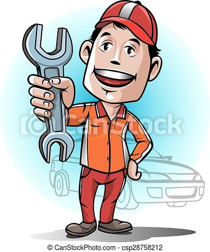 Auto mechanic service center - csp28758212