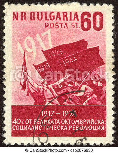 philatelic nineteen - csp2876930