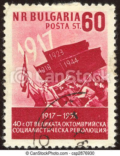 philatelic nineteen - csp2876930