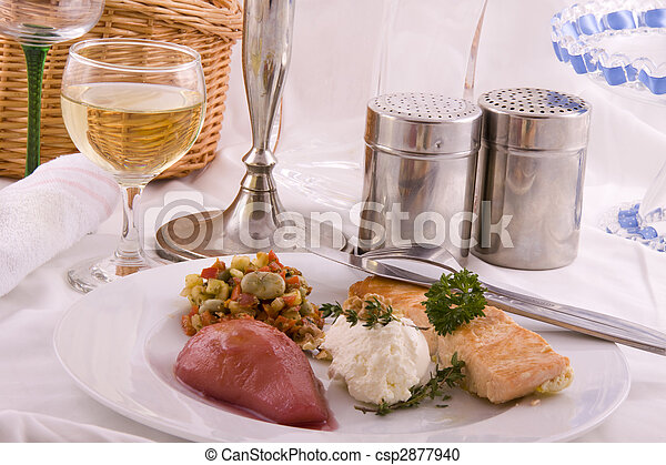 Salmon for diner - csp2877940
