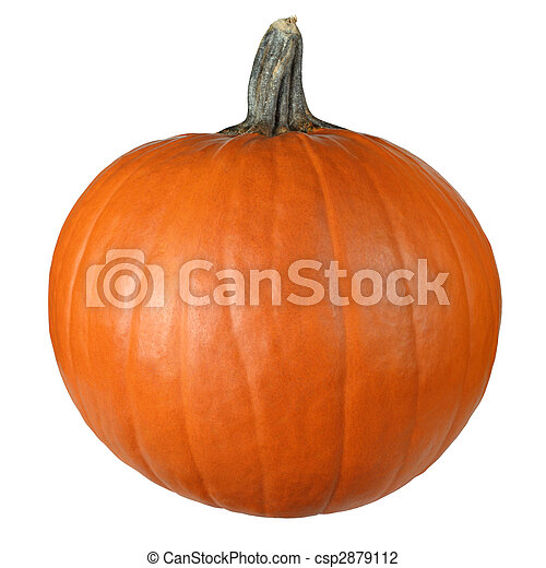 Pumpkin ready to carve - csp2879112