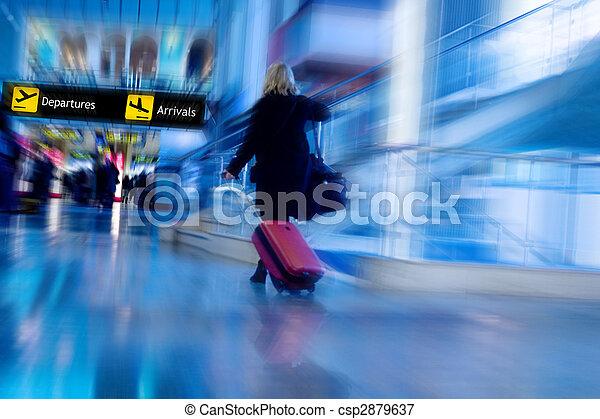 Airline Passenger - csp2879637