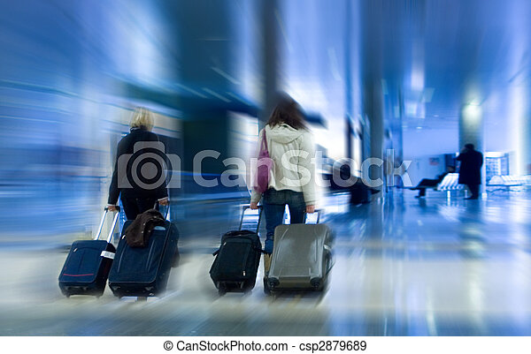 Airline Passengers - csp2879689