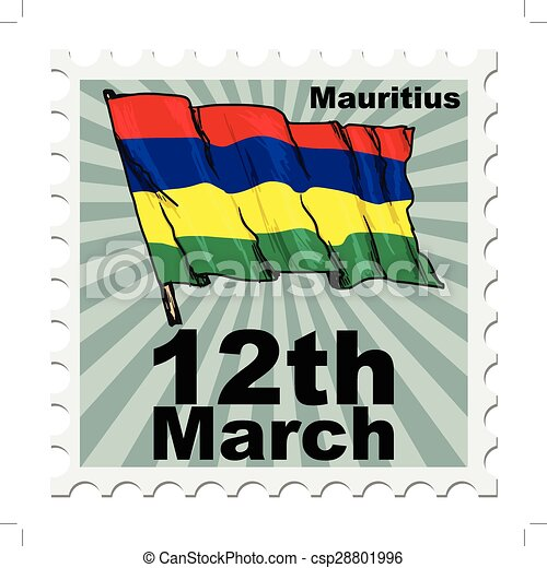 national day of Mauritius - csp28801996