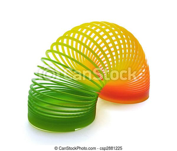 Slinky spring toy - csp2881225