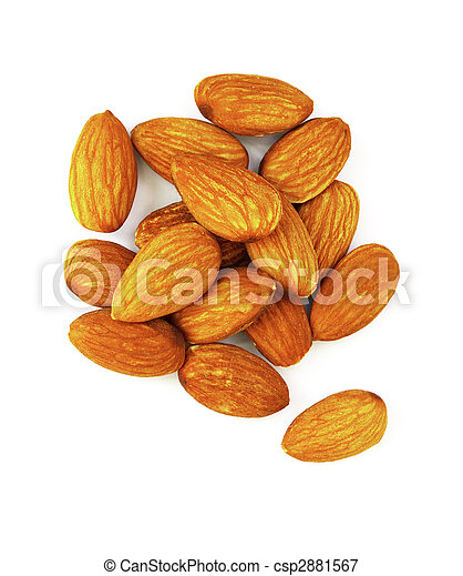 Almond - csp2881567