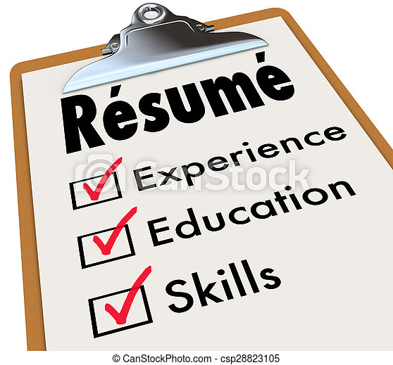 employment skills for resumes
