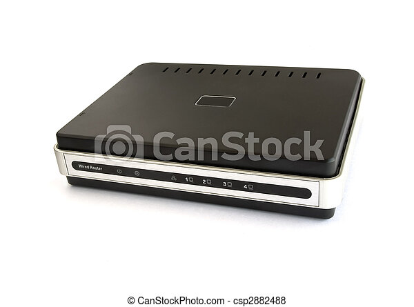 Wired network broadband router - csp2882488
