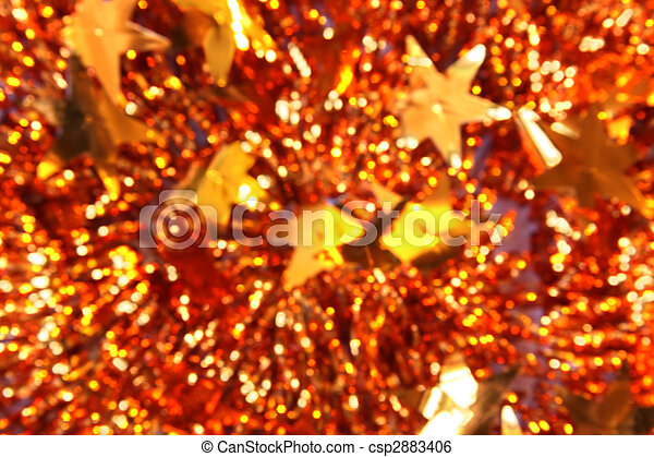 Abstract Christmas background of tinsel