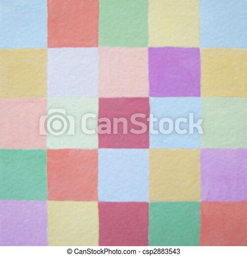 Soft colors squares balance - csp2883543