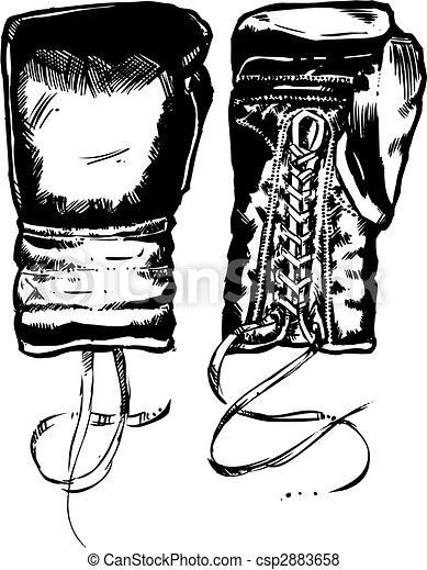 Boxing Gloves - csp2883658