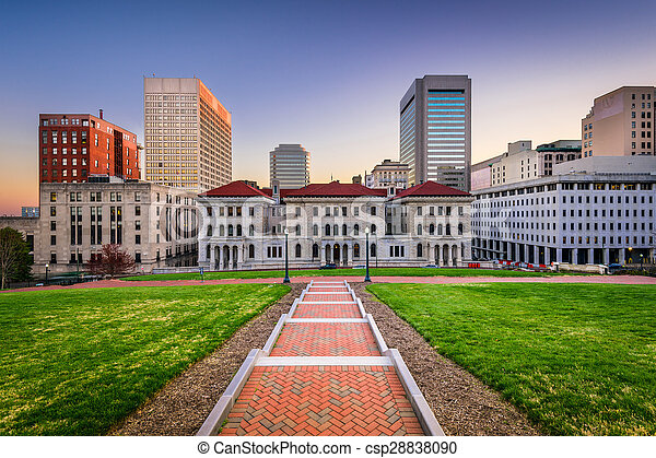 Stock Photographs of Richmond Virginia Cityscape - Richmond ...