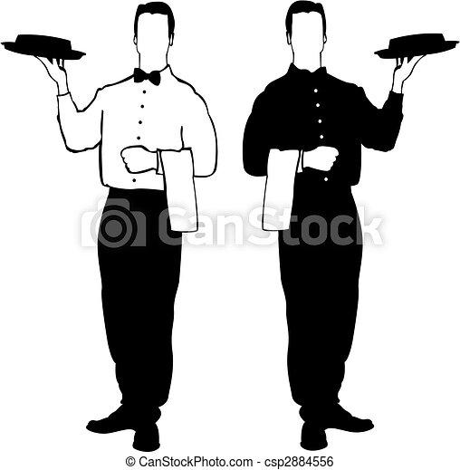 Resturant Waiter - csp2884556